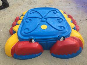 Bể chơi cát nước hình con cua A801
