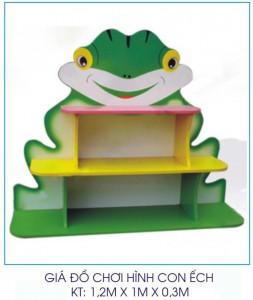 Giá đồ chơi hình con ếch B128