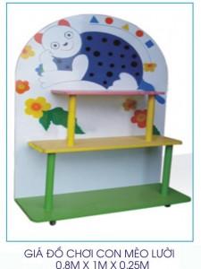 Giá đồ chơi con mèo lười B126