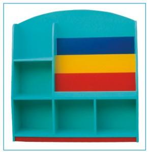 Giá thư viện mẫu giáo mẫu 1 B201