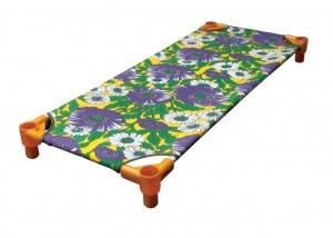 Giường vải bạt hoa