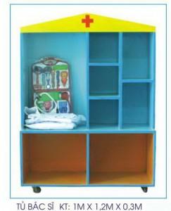 Tủ bác sĩ mẫu 2 B406