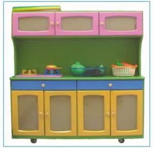 Tủ bếp mầm non có bồn số 2 B416