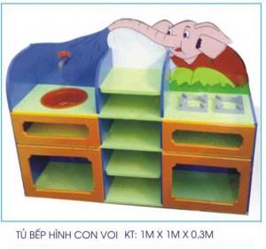 Tủ bếp đồ chơi hình con voi B413