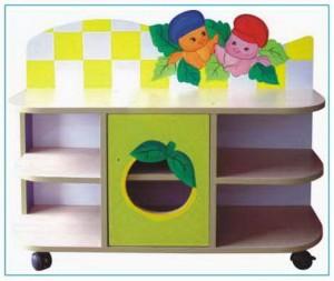 Tủ đồ chơi hình quả cam B410