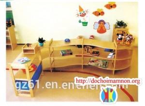 Giá để đồ chơi gỗ thông E115