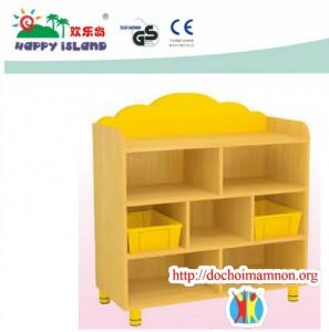 Giá để đồ chơi gỗ thông E111