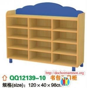 Giá để đồ chơi gỗ thông E107