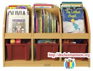 Giá sách trẻ em E213