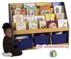 Giá sách trẻ em E214