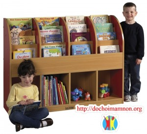 Giá sách trẻ em E221