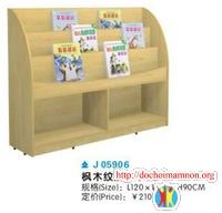 Giá để đồ chơi gỗ thông E109