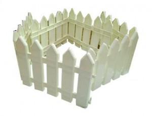 Hàng rào trắng