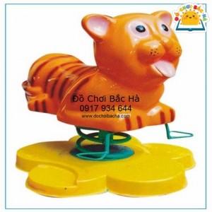 Thú nhún lò xo con hổ A422