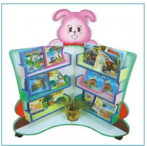Giá sách đồ chơi và giá thư viện cho trẻ mầm non