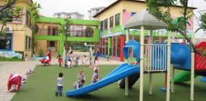 Thiết bị đồ chơi ngoài trời giúp trẻ năng cường khả năng vận động