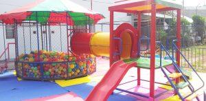 Tăng cường khả năng vận động cho trẻ với những thiết bị đồ chơi ngoài trời