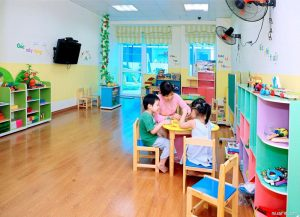 Tạo dựng cho trẻ không gian học tập và vui chơi an toàn