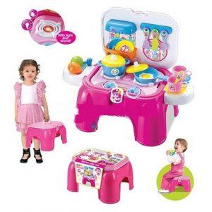 Tư vấn chọn đồ chơi cho bé gái có những bộ đồ đẹp