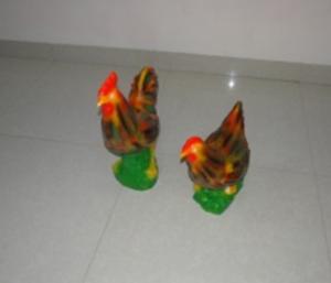 Tượng gà trống, gà mái A818