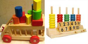 Đồ chơi bằng gỗ có ưu điểm gì nổi bật?