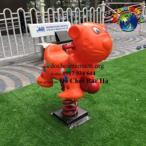 Thú nhún nhập khẩu con hổ A448