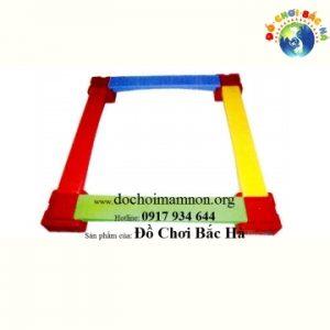 Cầu thăng bằng đế vuông 4 thanh