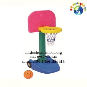 Cột ném bóng rổ có bánh xe