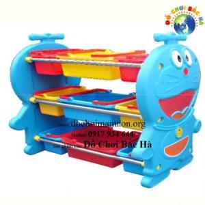 Giá đồ chơi nhựa Doremon