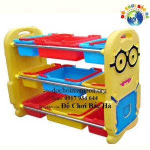 Giá đồ chơi nhựa Minion