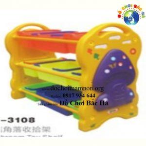 Giá đồ chơi nhựa hình cây nấm