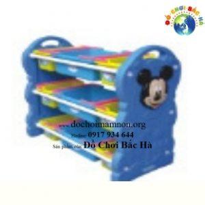 giá đồ chơi nhựa mickey