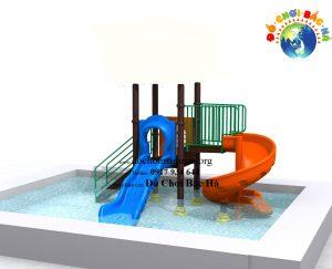 Cầu trượt bể bơi số 7