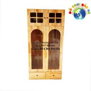 Tủ đựng trang phục biểu diễn gỗ thông